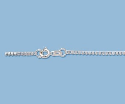 Picture of Sterling Silver Box Chain 1.5mm 16 inch