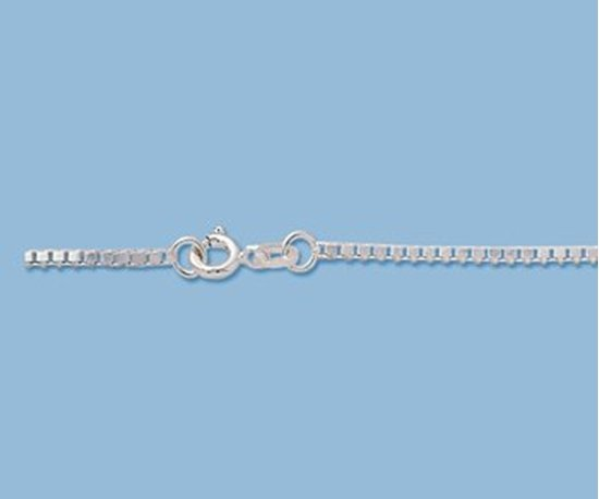 Picture of Sterling Silver Box Chain 1.5mm 18 inch