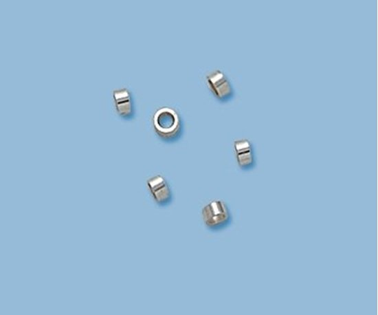 Picture of Crimp Beads 2x1mm Sterling Silver(20 pack)