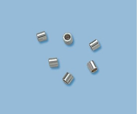 Picture of Crimp Beads 2x2mm Sterling Silver(20 pack)