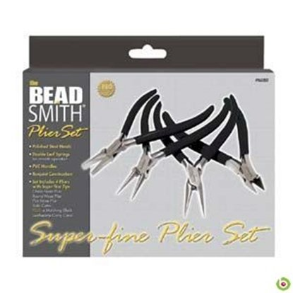 Picture of 4 Piece Plier Set - Fine