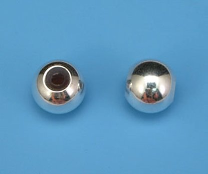 Picture of Sterling Silver Smart Bead 8mm
