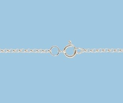 Picture of Sterling Silver Chain Rolo 1.4 mm 16 inch