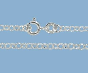 Picture of Sterling Silver Rolo Chain 2.5mm 30 inch