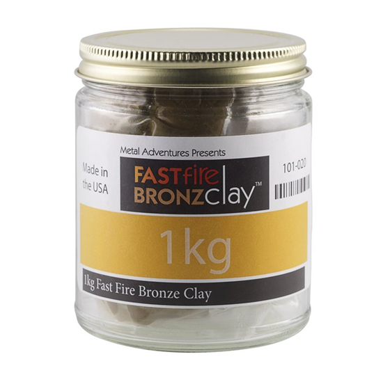 Picture of FASTfire BRONZclay, 1 kg