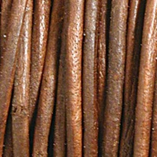 Picture of  Indian Leather Distressed Brown 2mm