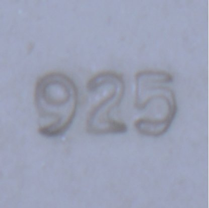 "Picture of Micro Stamp- "".925"""