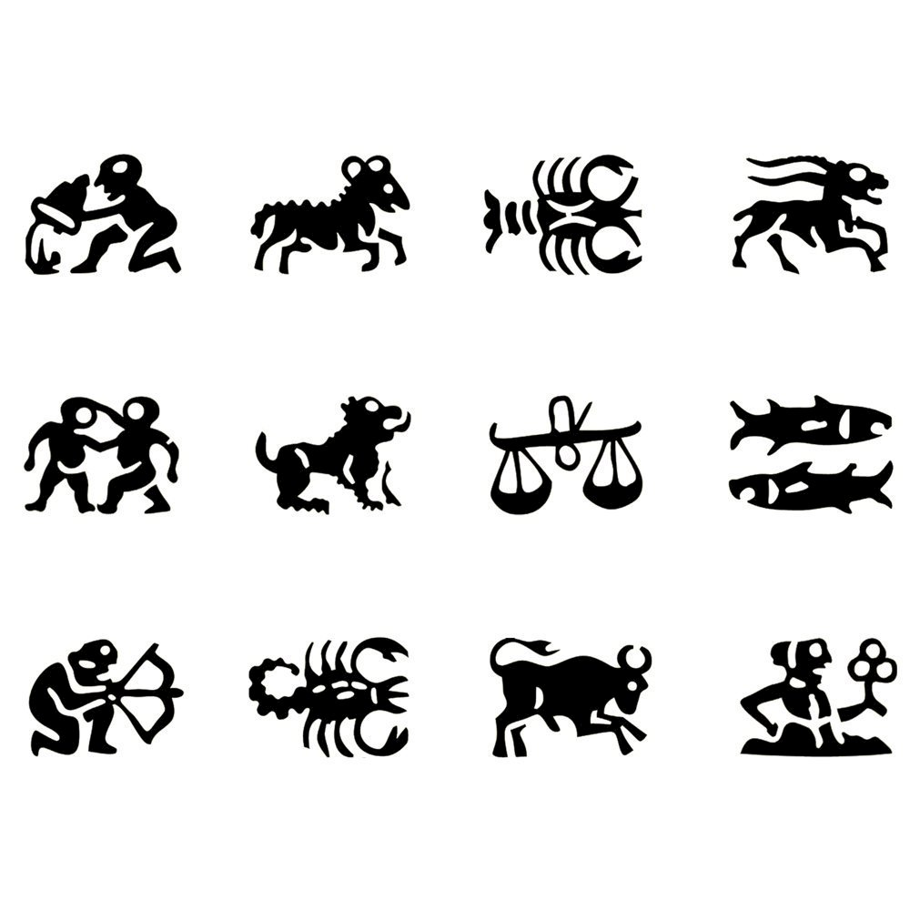 Astrology Symbol Stamps Metal Clay Discount Supply