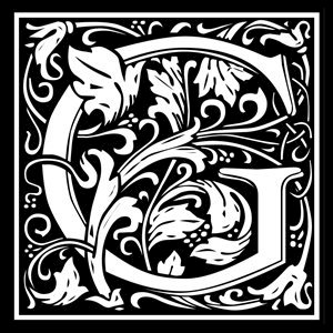 Picture of Monogram Stamp 14mm G