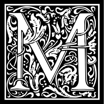 Picture of Monogram Stamp 14mm M