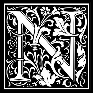 Picture of Monogram Stamp 14mm N