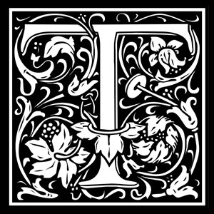 Picture of Monogram Stamp 14mm T