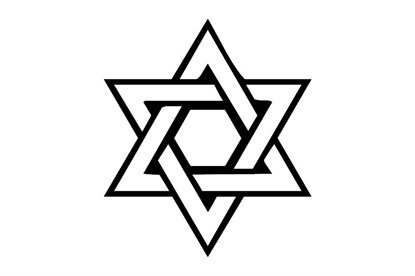 Picture of Star Of David Symbol Stamp
