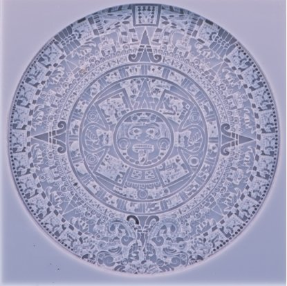 Picture of Texture Stamp - Aztec Calendar