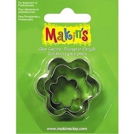 Picture of Makins Clay Cutter 3/set- Flower