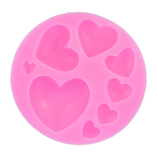 Picture of 3D Hearts Mold