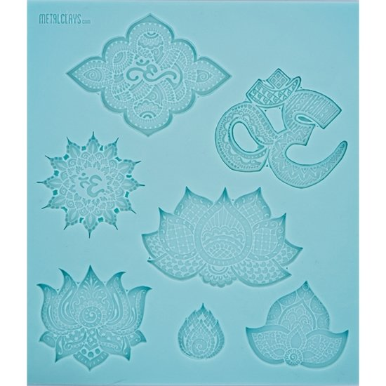 Texture Sheet- Om and Lotus