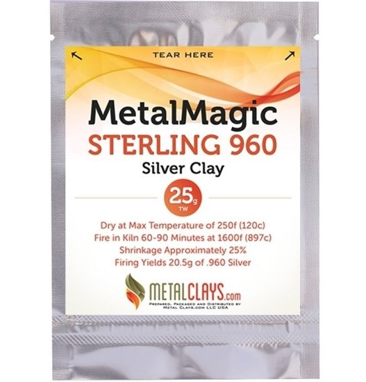 MetalMagic Sterling 960 Silver Clay 25g