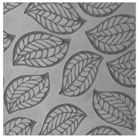 Picture of Texture Tile - Falling Leaves Embossed