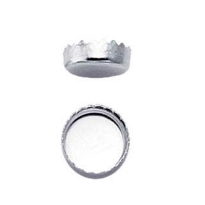 Picture of 5mm Serrated Bezel Cup .999 Pack (10)