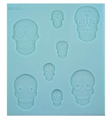 Picture of Texture Sheet -  Mexican Sugar Skulls