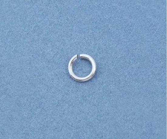 Picture of Sterling Silver Jump Rings 4mm (100 pack)