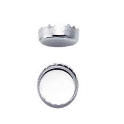 Picture of 6mm Serrated Bezel Cup .999 Pack (10)
