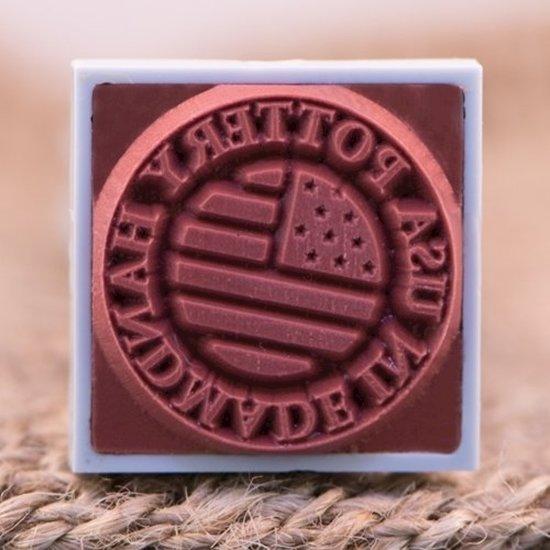 Custom underglaze stamp 20mm