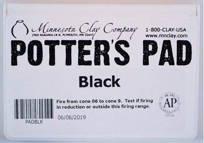 Picture of Potters Pad Black