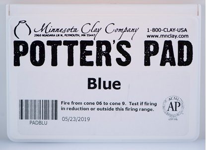 Picture of Potters Pad Blue