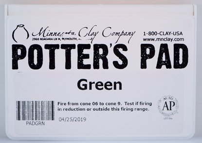 Picture of Potters Pad Green