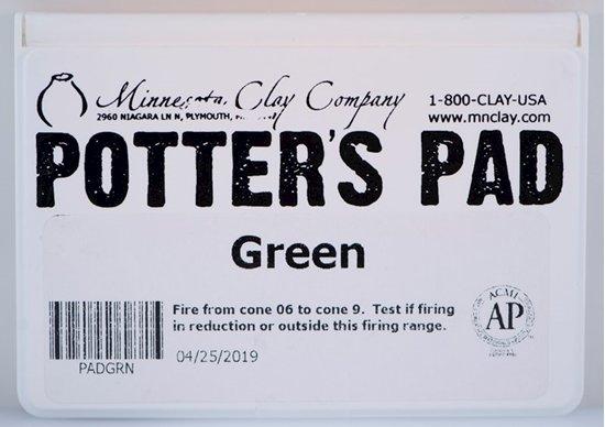 Potters Pad Green