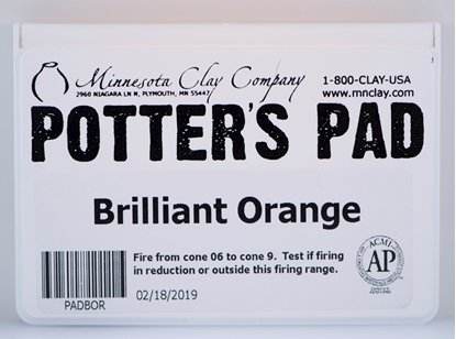 Picture of Potters Pad Orange
