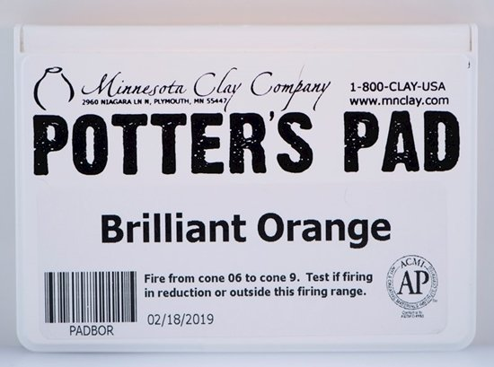 Potters Pad Orange