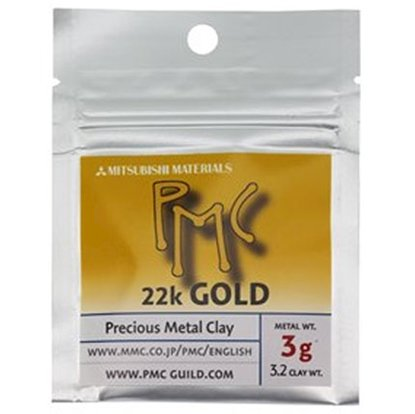 Picture of 22K Yellow Gold PMC Clay, 3 grams
