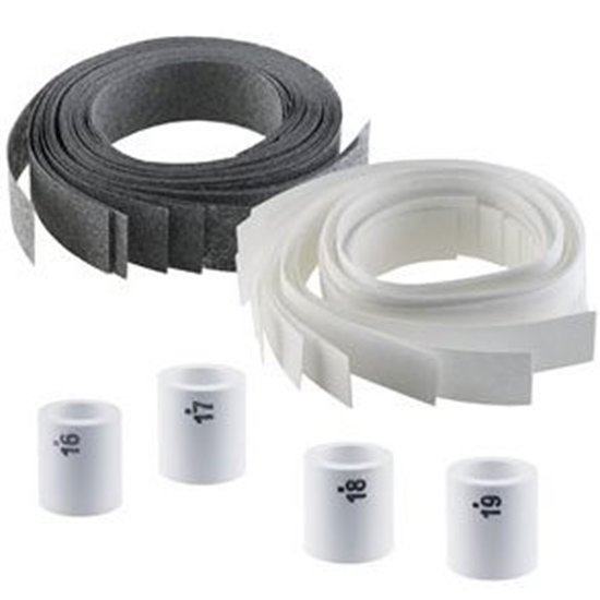 Picture of Ceramic Shrinkage Ring Stopper Set-#16–#19(7 3/4 to 9 US)