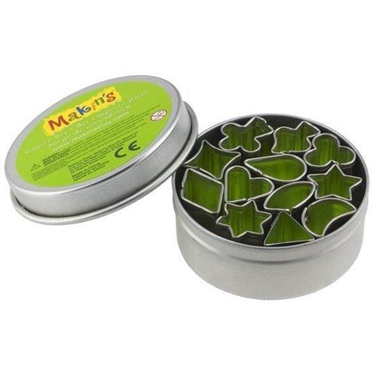 Picture of Makins Cutter Tin Set/12- Mini Geo
