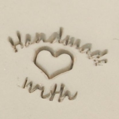 """Picture of Personalization Stamp- """"Handmade with Love"""""""