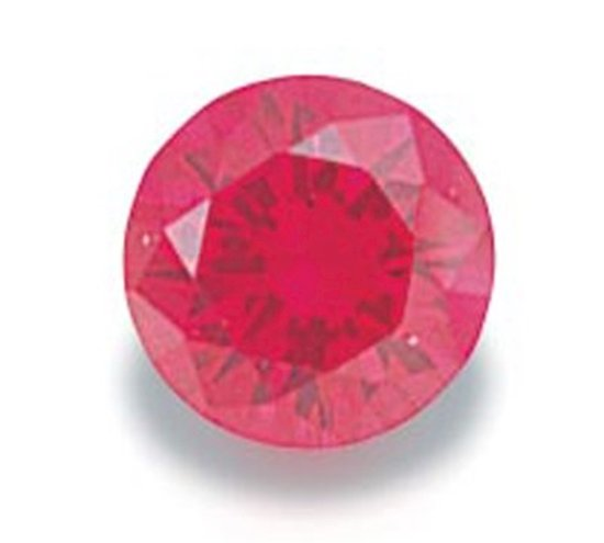 Picture of Ruby Red Round Cut CZ (4mm)