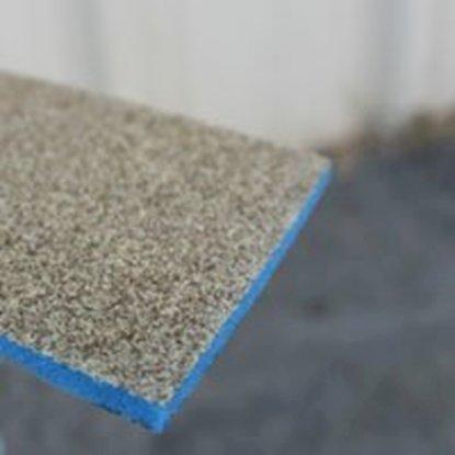 "Picture of 120-180 Grit Wet / Dry Sponge sanders. size: 2.5""x4.5"""