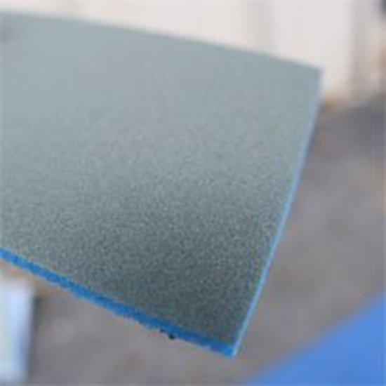 "Picture of 500-600 Grit Wet / Dry Sponge sanders. size: 2.5""x4.5"""