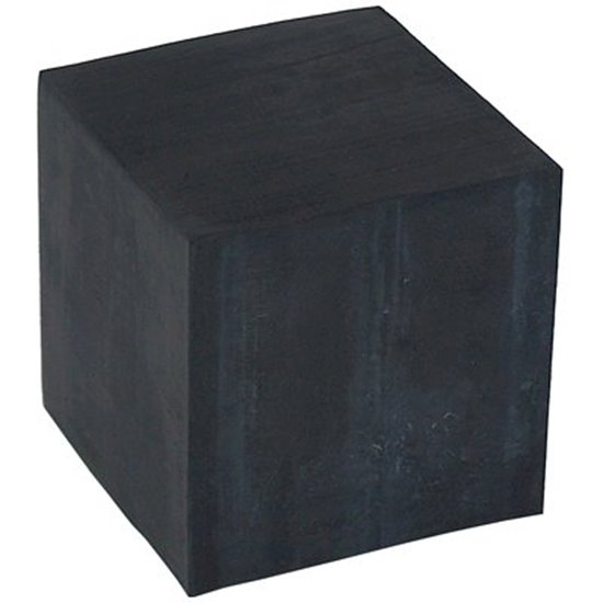 """Picture of Rubber Block (Small 2"""" x 2"""" x 2"""")"""
