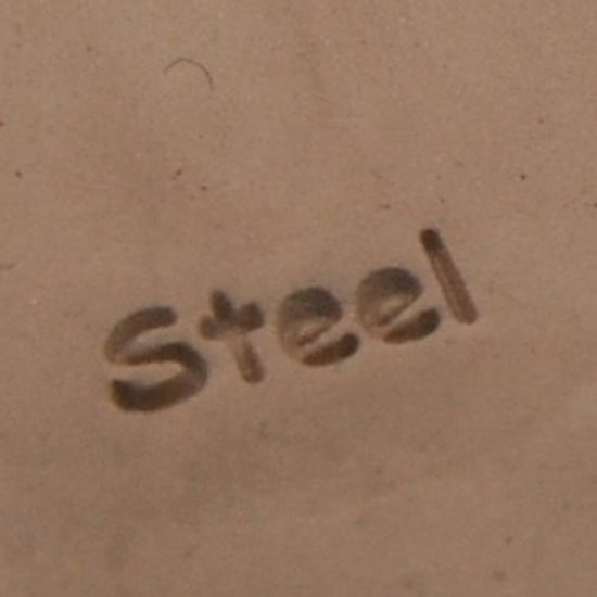 """Picture of Content Marking Stamp- """"STEEL"""""""