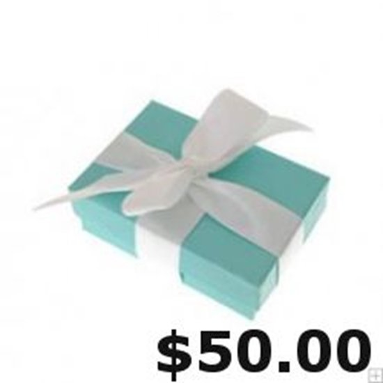 Picture of Gift Certificate $50.00