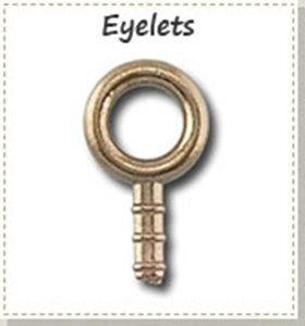 Picture for category Bronze eyelet findings for Bronze Metal Clay