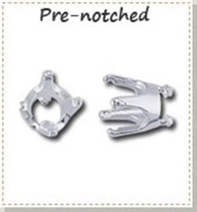 Picture for category Silver pre-notched round findings for Silver Metal Clay