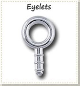 Picture for category Silver eyelet findings for Silver Metal Clay