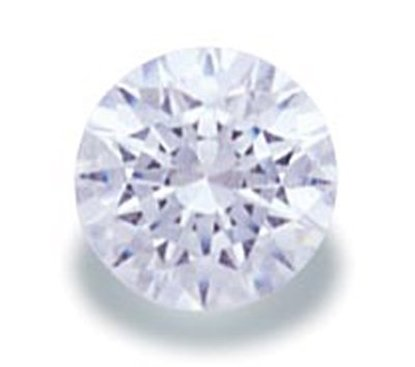 Picture of White Round Cut CZ (6mm)