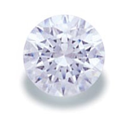 Picture of White Round Cut CZ (2mm)