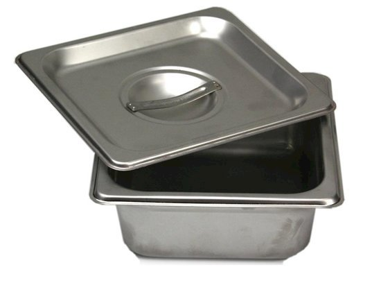 Picture of Stainless Steel Firing Container with Lid - L